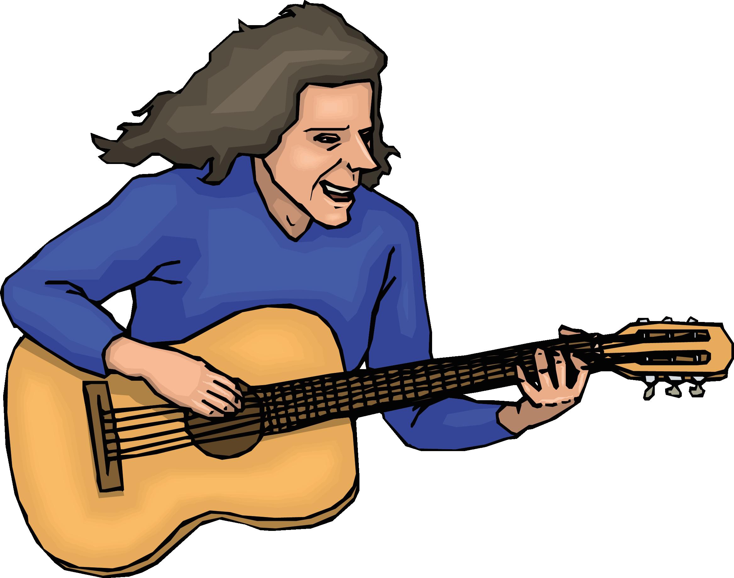 ich spiele gitarre